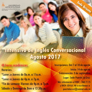 Intensivo ingles 2017 flyer 2