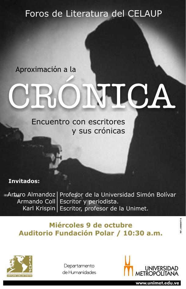 Foro de Literatura CELAUP  9 10 2013