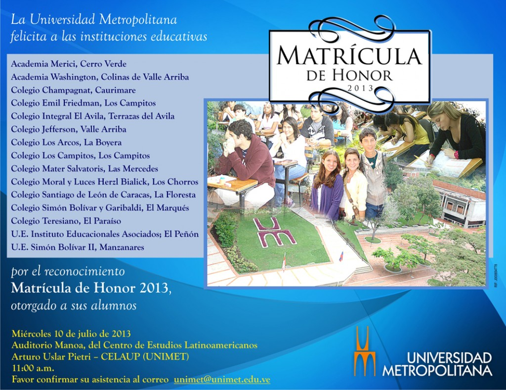 Tjta M Honor Instituciones 2013