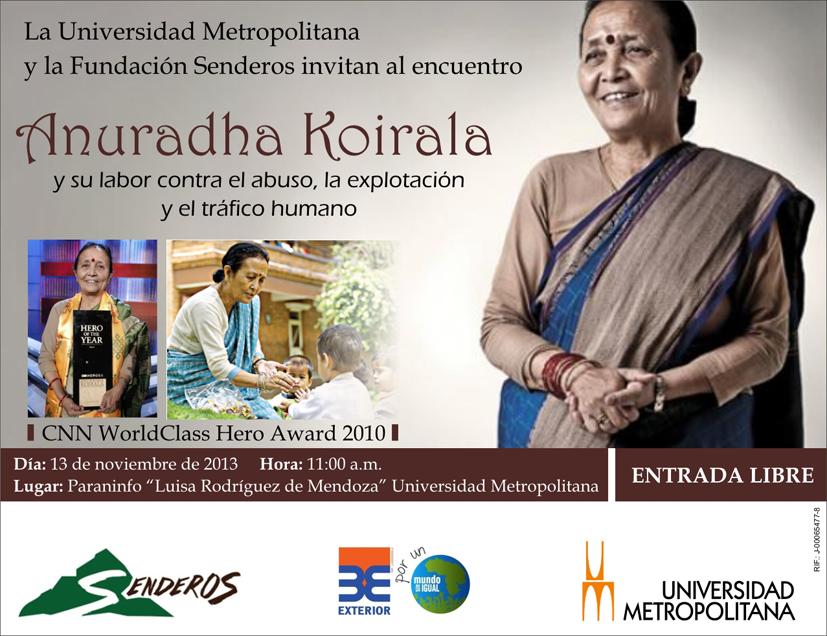 Anuradha Koirala nov 2013