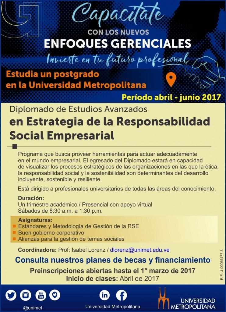 Mailing Univ Postgrado RSE ene 2017