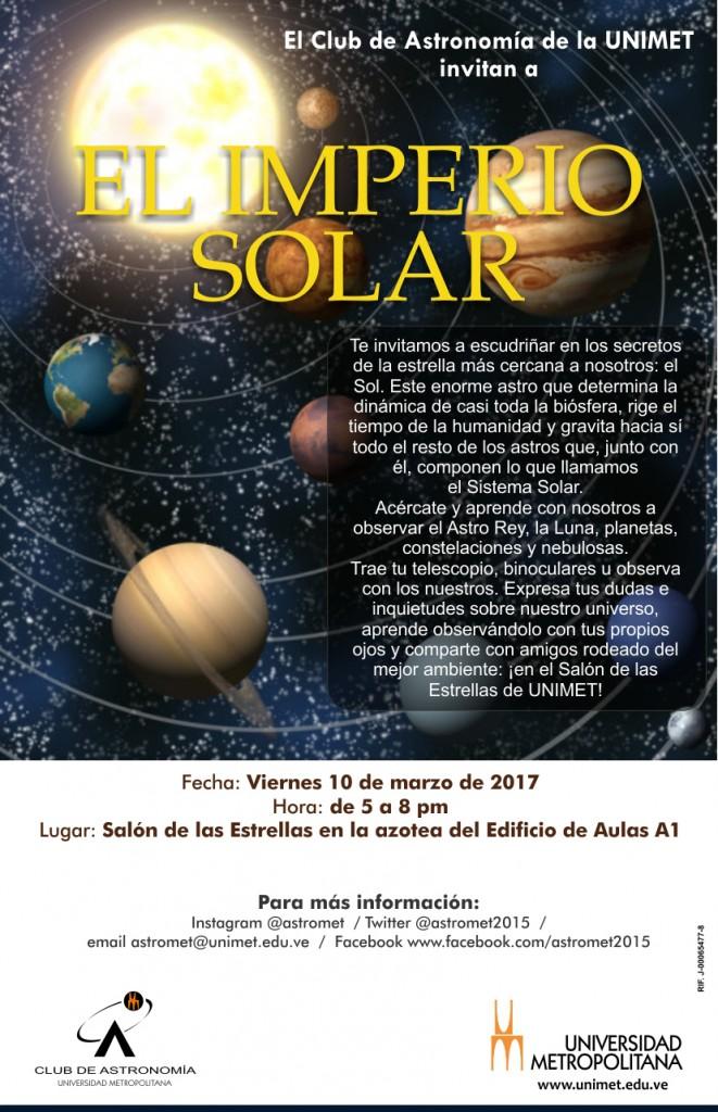 Charla Astromet IMPERIO SOLAR 10 03