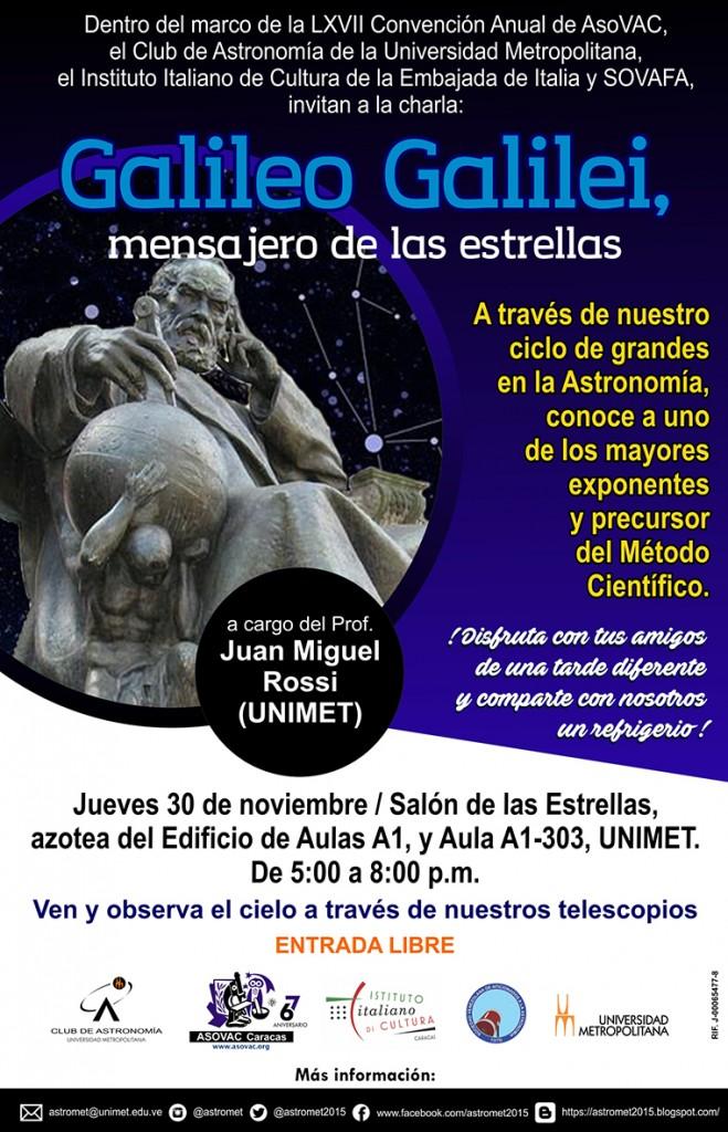 GALILEO GALILEI MENSAJERO DE LAS ESTRELLAS_30NOVIEMBRE2017
