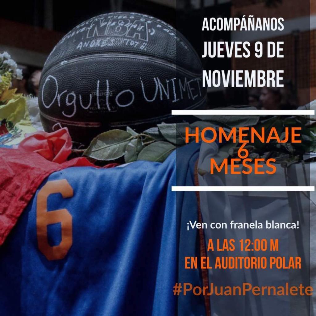 Homenaje a Juan Pernalete