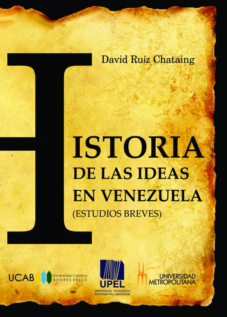 Portada Historia de las ideas en Vzla 1