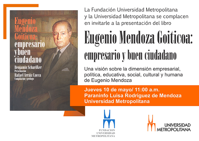 Present Libro Eug Mendoza 10 05 2018