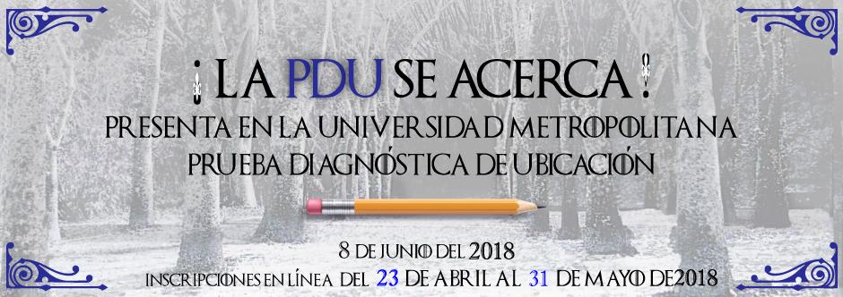 Banner PDU junio 18 nueva fecha