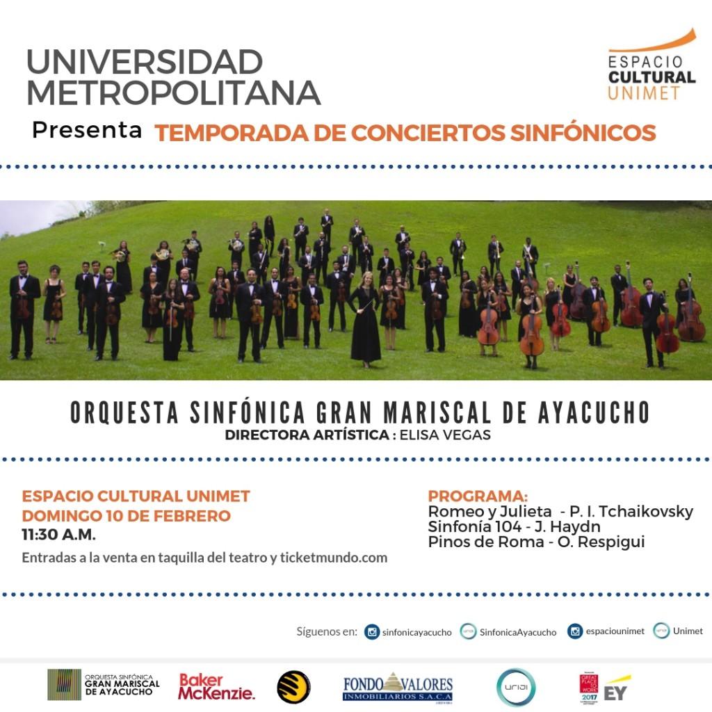 Primer Concierto Sinfónico Unimet - Sinfónica Ayacucho