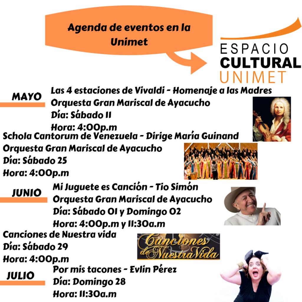 Espacio Cultural abril 19