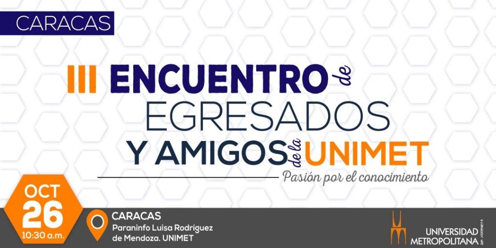 Banner Encuentro de egresados Cacaras 2019