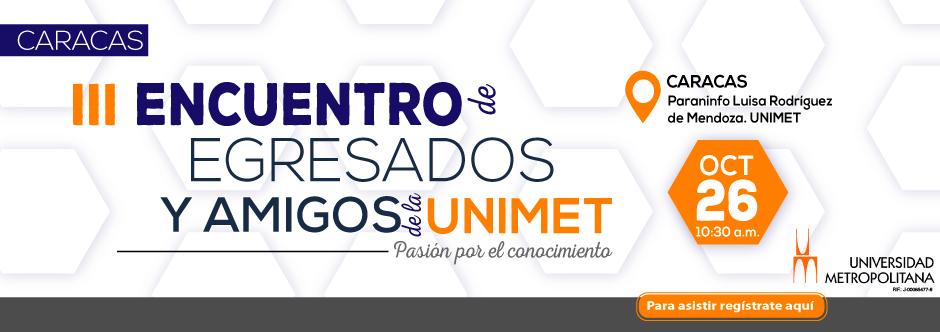 Banner HOME Encuentro de egresados Cacaras 2019